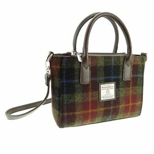 Authentic Harris Tweed Small Tote Bag | With Shoulder Strap | LB1228 COL 59