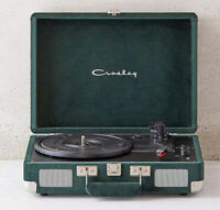 CROSLEY VINYL RECORD PLAYER CRUISER with BLUETOOTH BLUE VELVET TURNTABLE Great