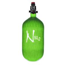 Ninja Carbon Fiber Hpa Tank - 77/4500 Sl2 - Adjustable Reg - Lime