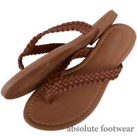Ladies / Women Summer / Holiday / Beach Sandals / Flip Flips / Toe Posts / Shoes