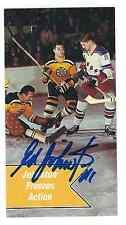 Autographed 1994 Parkhurst Tall Boy Ed Johnston Card #167 Boston Bruins