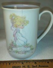 Precious Moments 1989 Coffee Mug for Teacher - Enesco Collecton - Sam J. Butcher
