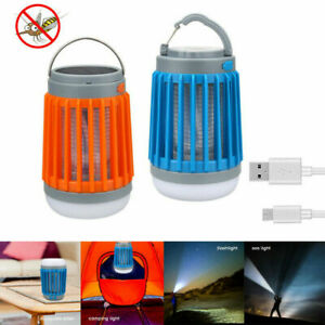3 in1 Solar Camping Light Lantern Torches Mosquito Insect Killer Solar and USB C