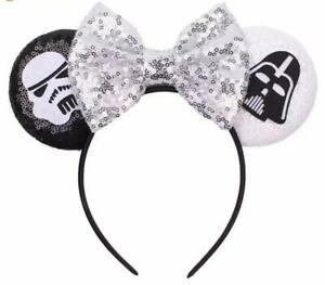Star Wars Mickey Minnie Mouse Ears, Disney Ears, Darth Vader, BB-8 HANDMADE