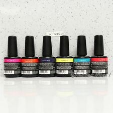 NEW Artistic Nail Design Colour Gloss SET OF 6 Gel Polish Kit