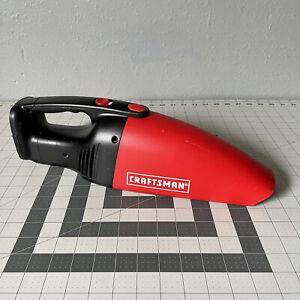 Craftsman 12V Dry Hand Vac Vacuum  315.177530 - Tested & Working