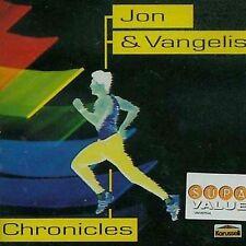 JON & VANGELIS--Chronicles--Kraussell Specturm German Pressing--CD--Yes
