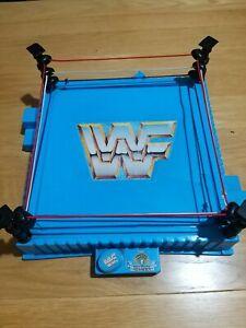 WWF Vintage  Wrestlemania Ring . 1989