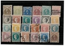 Serbia 1866/80 Princes Milan and Mihailo lot stamps USED/MH/(MH)