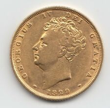 More details for 1829 george iv gold sovereign - great britain