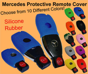 Mercedes Keyless Remote Rubber Cover C CL CLK E G GL M S SL SLK Clicker Gel Skin