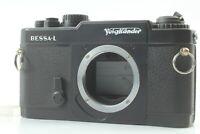 【 N Mint ++ 】 Voigtlander BESSA L 35mm Rangefinder Film Camera Black L39 Japan
