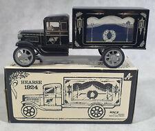 Kovap Tin Plate Hearse 1924, Original Box, 1.32 Scale Toy, RARE