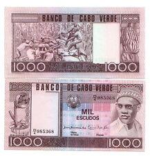 Capo Verde Cape Verde 1000 escudos 1977 FDS UNC pick 56  rif. 74