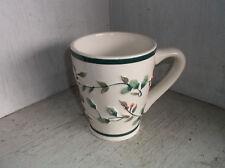 Pfaltzgraff WINTERBERRY Coffee Mug Cup Embossed