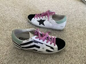 Golden Goose superstar Sneakers Shoes Size 38