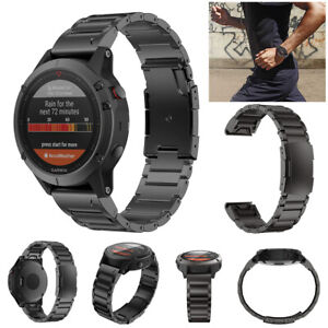 Luxury Titanium Alloy Watch Band Strap & Meter Remover For Garmin Fenix 6X Pro