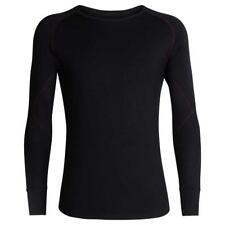 Icebreaker Merino 260 Zone LS Crew Shirt (M) Black 415160231032