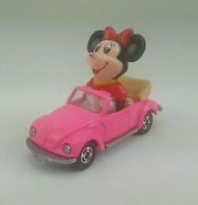 Tomy Volkswagen Beetle with Mini Mouse in Pink made for Walt Disney