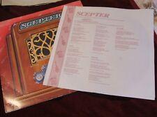Scepter, nous presse privée Star Chanson Records