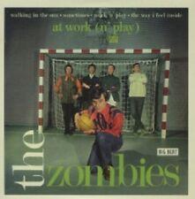 THE ZOMBIES - AT WORK (N'PLAY)  VINYL SINGLE  4 TRACKS ROCK & POP  NEW!