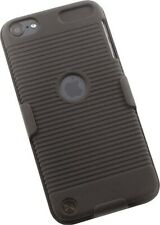 BLACK HARD CASE COVER + BELT CLIP HOLSTER STAND FOR iPOD TOUCH 5 6 7