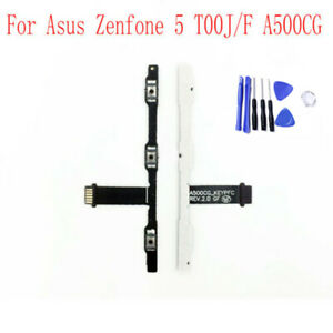 Power Flex Cable Volume Buttons Mute Switch For Asus Zenfone 5 T00J/F A500CG