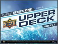 2020-21 Upper Deck 1Series  Hockey Factory Sealed Booster | 1 pack | PREORDER