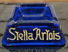 Blue Stella Artois Ashtray Bieren, Bieres, Beer - Rare Color