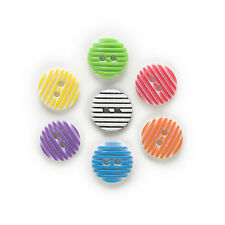 50pcs 2 Hole Round Resin Buttons Home Decor Clothing Sewing Scrapbooking 13mm