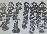 Huge Multi-listing Space marine Black Templar Terminator Scouts models OOP