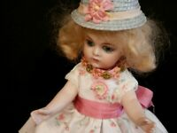 OOAK 3 Piece Style Costume For All Bisque Dolls Or Other... Kestner, S. Halbig..