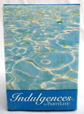 """K0446.Partylite.Indulgenc es.TranquiLity.Lavender.3& #034; x 4"""" Candle.New Box"""