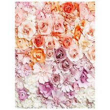 5x7ft Photography Backdrop Paper Flower wall wedding baby background props F2I0