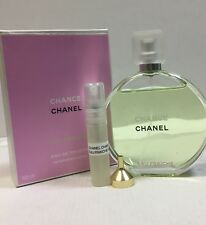 Genuine CHANEL Chance EAU FRAICHE 2ml Eau De Toilette Sample Atomizer FREE P&P