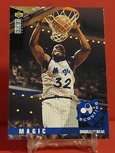 1995 Upper Deck Collectors Choice BasketballShaquille O'Neal Card#339Magic