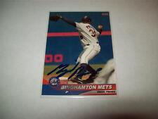 Miguel Pinango - Binghamton Mets - Autographed  2006 Choice Cards # 19