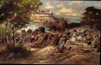 Coburg Feste die Belagerung durch Wallenstein Ansichtskarte Postkarte AK PK