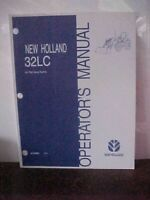 OM New Holland 32LC Issue 2/04  (1A)