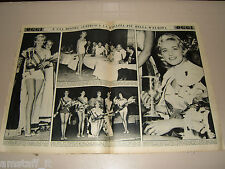 OGGI=1958/28= Johanna Ehrenstrasser Miss Europa Europe 1958 clipping photo =