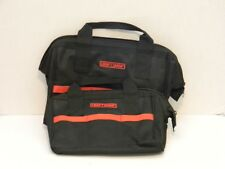 "Craftsman Tool Bag Set 10"" and 12"""