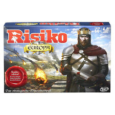Hasbro Spiele B7409 Strategiespiel RISIKO Europa Sonderedition Brettspiel