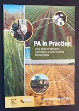 Catriona Nicholls - PA In Practice 2 - Precision Agrigulture Australia - pb 2012