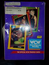 1991 Impel WCW World Championship Wrestling Wax Box