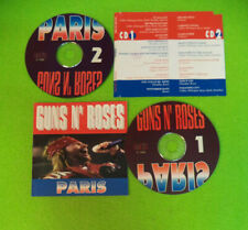 2 CD GUNS N' ROSES Paris 1992 Ita METAL CRASH MECD2091/92 UNOFFICIAL no lp(XS14)