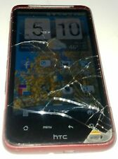 HTC Inspire 4G - 4GB - Red (AT&T) Smartphone Cracked Glass