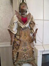 Marionette Asiate  Marionette Holz angekleidet alt, ca. 70 cm gebraucht/benutzt