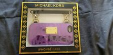 Purple Michael Kors iPhone 6 Case with Handle.