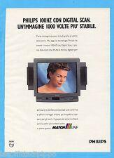 QUATTROR993-PUBBLICITA'/ADVERTISING-1993- PHILIPS 100HZ