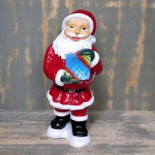 WEIHNACHTSMANN NIKOLAUS mit GESCHENK Deko Weihnachten Weihnachtsdeko ADVENT